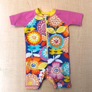 Sunblock Swimmy Rash Guard Suit